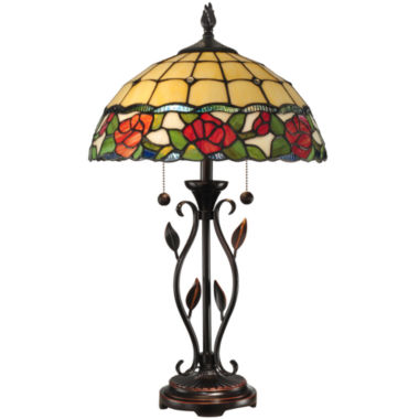 jcpenney.com | Dale Tiffany™ Rose Table Lamp