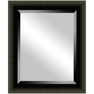jcpenney.com | Satin Black Beveled Mirrors