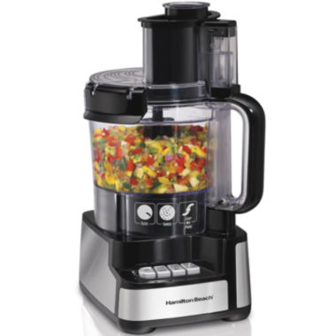jcpenney.com | Hamilton Beach® Stack & Snap™ 12-Cup Food Processor