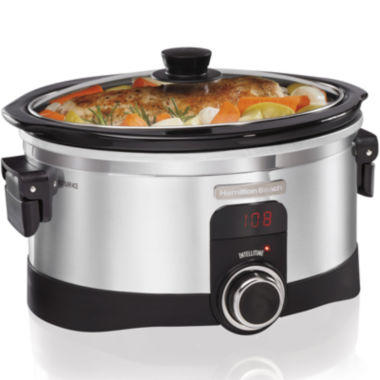 jcpenney.com | Hamilton Beach® IntelliTime™ 6-qt. Programmable Slow Cooker