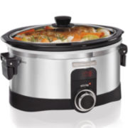 Hamilton Beach®l InteliTime™ 6-qt. Programmable Slow Cooker