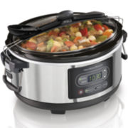 Hamilton Beach® Stay or Go® 5-qt. Programmable Slow Cooker