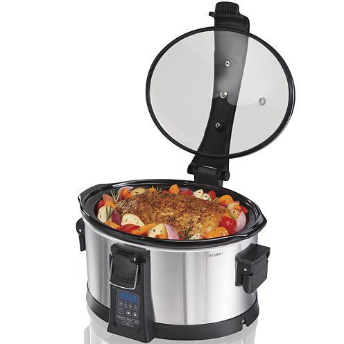 Hamilton Beach® Set & Forget 6-qt. Programmable Slow Cooker