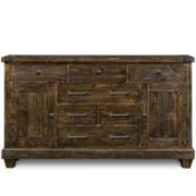 Nashville Rustic Pine Dresser