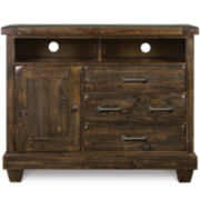 Nashville Rustic Pine Media Chest
