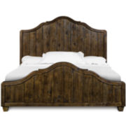 Nashville Rustic Pine Bed
