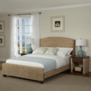 Kalani Woven Bed with Nightstands