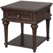 "Florentine 24"" Wood End Table"