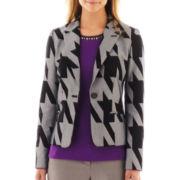 Worthington® 1-Button Print Jacket