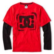 DC Shoes Co® Long-Sleeve Layered Tee - Boys 8-20