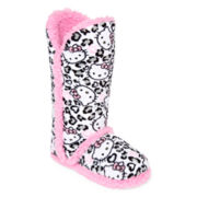 Hello Kitty® Tall Boot Slippers