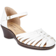 softspots® Tatianna Huarache Leather Sandals