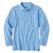 IZOD® Long-Sleeve Polo Shirt - Boys 4-20 and Husky