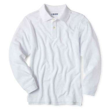 jcpenney.com | IZOD® Long-Sleeve Polo Shirt - Boys 4-20 and Husky