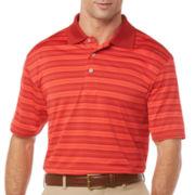 PGA TOUR® Airflux Striped Polo