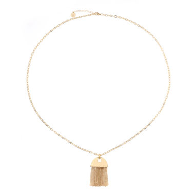 jcpenney.com | Liz Claiborne Goldtone Long Tassel Necklace
