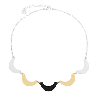 jcpenney.com | Liz Claiborne Collar Necklace Mixed Metal