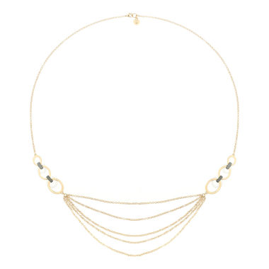 jcpenney.com | Liz Claiborne Strandange Necklace Mixed Metal