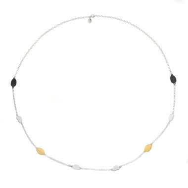 jcpenney.com | Liz Claiborne Long Station Necklace Mixed Metal