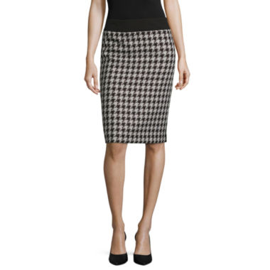 jcpenney.com | Black Label by Evan-Picone Houndstooth Suit Skirt