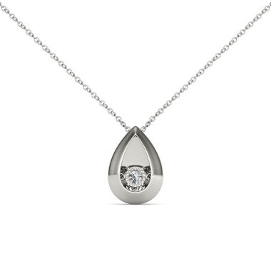 jcpenney.com | Love in Motion Diamond Accent White Diamond Accent Round Pendant