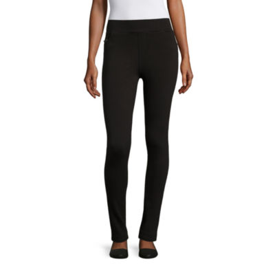 I Jeans By Buffalo Solid Ponte Leggings