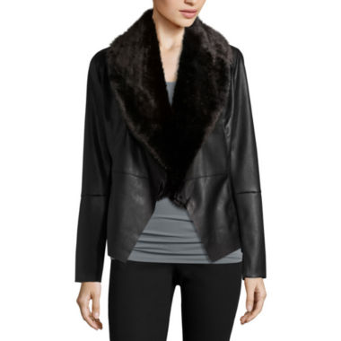 jcpenney.com | i jeans by Buffalo Faux Fur Jacket
