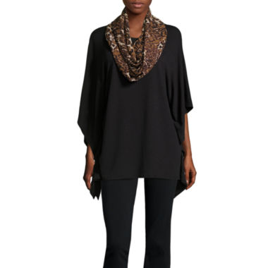 jcpenney.com | Alyx Short Sleeve Scoop Neck Poncho