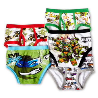 jcpenney.com | Ninja Turtles 5-pk. Briefs - Boys 4-8
