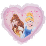 Disney Princess Forever Heart Decorative Pillow