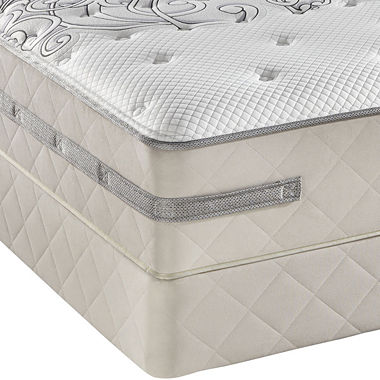 Sealy Posturepedic Hybrid Focus Cushion Firm Mattress Set