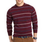 IZOD® Fine-Gauge V-Neck Sweater