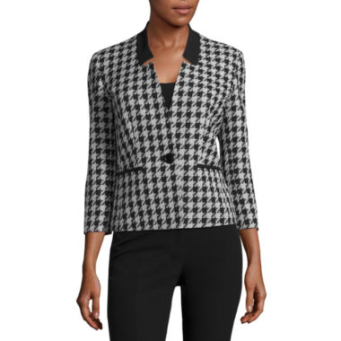 jcpenney.com | Black Label by Evan-Picone Houndstooth Suit Jacket