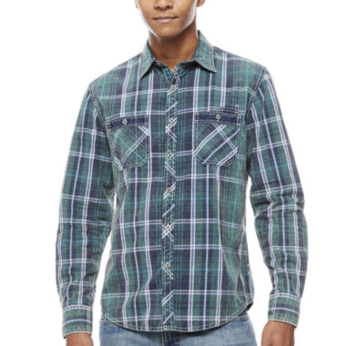 jcpenney.com | Decree Button-Front Shirt