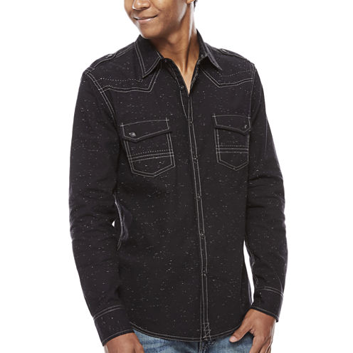 Decree Button-Front Shirt