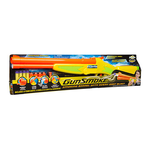Buzz Bee Toys Air Warriors Gunsmoke Dart Launcher 6-pc. Toy Playset
