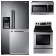 Samsung Side-by-Side Kitchen Package