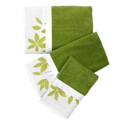 Mayan Leaf 3-pc. Bath Towel Set