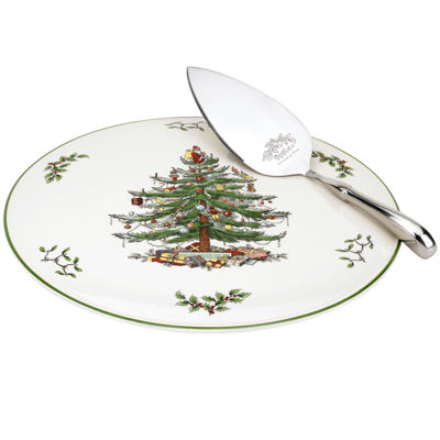 Spode Christmas Tree Cake Plate and Server  sc 1 st  JCPenney & Spode Christmas Tree Cake Plate and Server - JCPenney