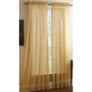 Croscill Classics® Rice Paper Rod-Pocket Sheer Panel