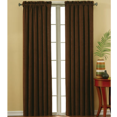 jcpenney.com | Eclipse® Faux-Suede Rod-Pocket Blackout Curtain Panel