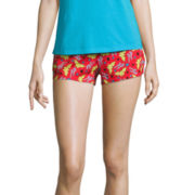 DC Comics Short Sleeve Shorts Pajama Set-Juniors