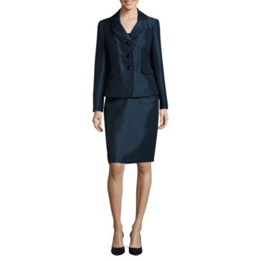 jcpenney.com | Le Suit ® Long Sleeve 3 Button Jacket Skirt Suit