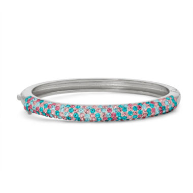 jcpenney.com | Children's Crystal Brass Bangle Bracelet