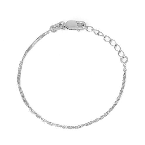 Girls 6 Inch Link Bracelet