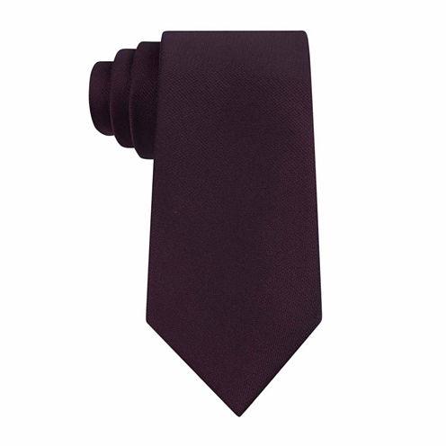 Van Heusen Chrome Solid Slim Tie