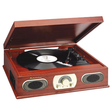jcpenney.com | Studebaker SB6052 Wooden Turntable with AM/FM Radio & Cassette Player