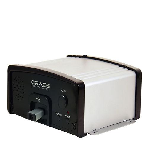 Grace Digital USBM10 Business Audio System, Music & Messaging MP3 Player