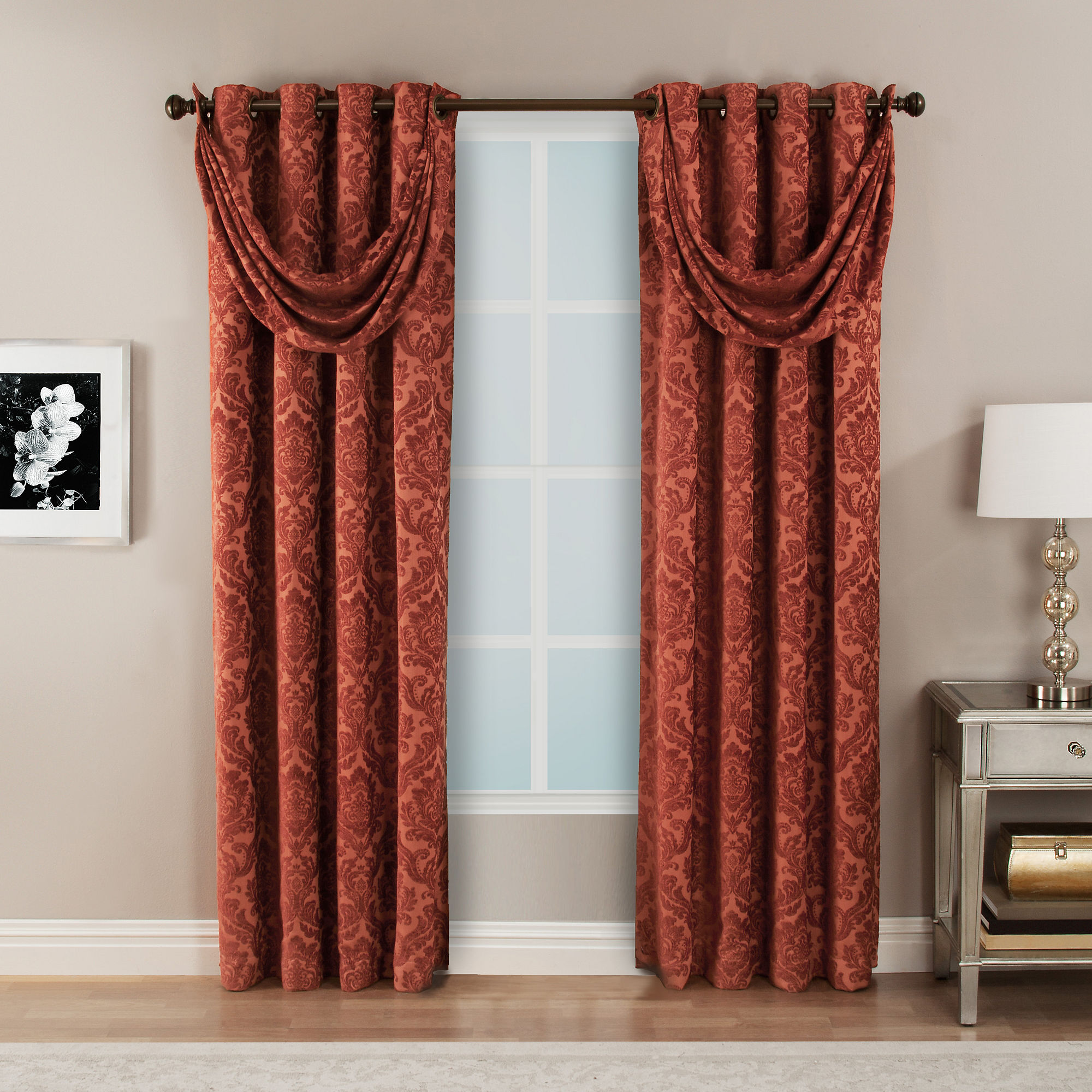 Bellagio Grommet-Top Curtain Panel