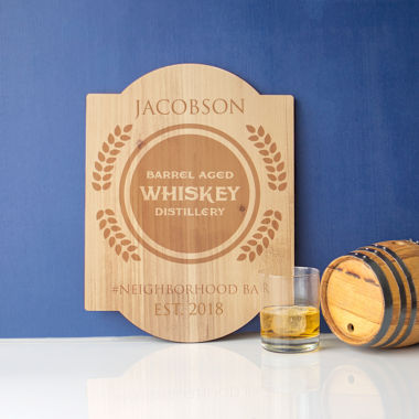 jcpenney.com | Cathy's Concepts Personalized Whiskey Bar Sign